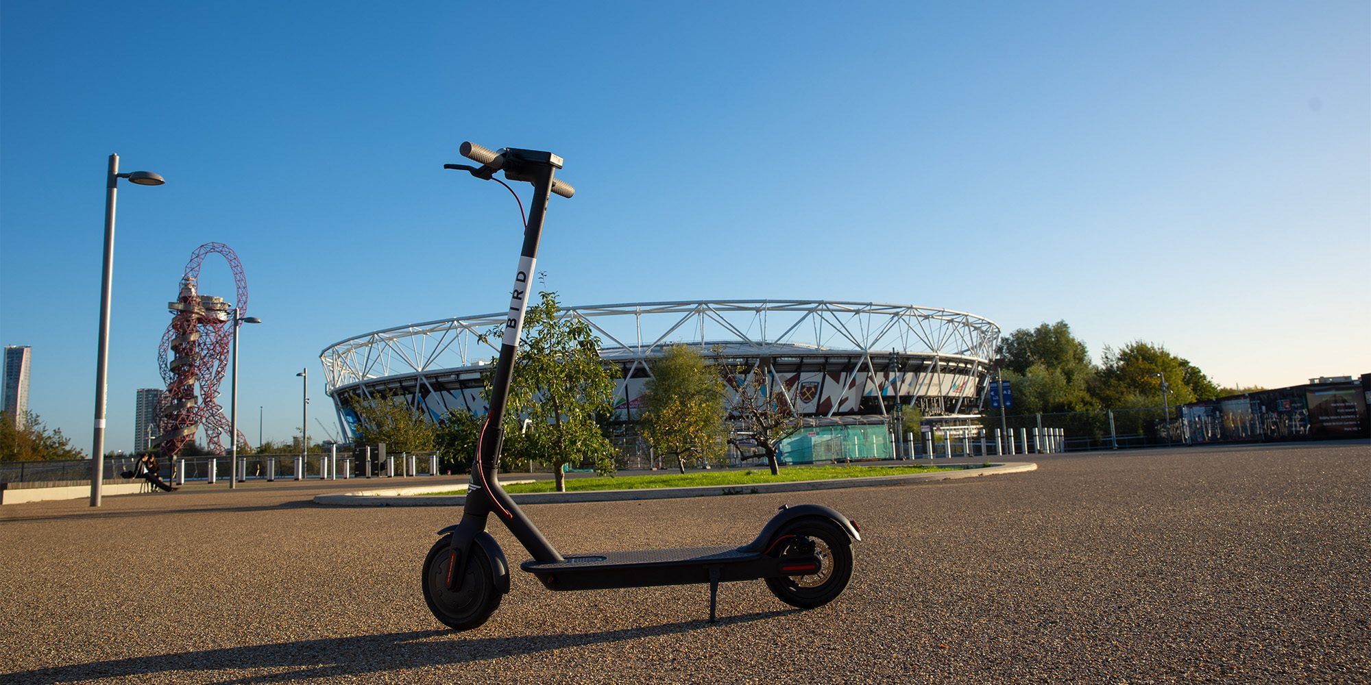 Electric scooter unicorn Bird launches trial in Queen Elizabeth Olympic Park