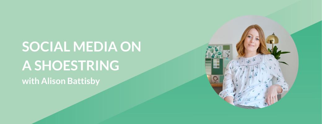 Social media on a shoestring